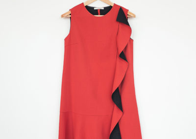 DRESS / THERMO-BONDED NEOPRENE EFFECT